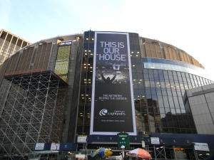 Madison Square Garden. Photo by: Stacy Podelski