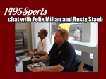 The 1495 Sports collage made for the chat with Felix Millan and Rusty Staub. Photo made by: Stacy Podelski