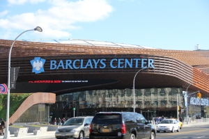 Barclays Center. Photo by: Stacy Podelski