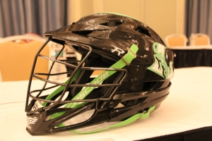 New York Lizards Helmet. Photo by: Stacy Podelski /1495 Sports