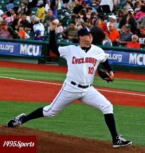 Corey Oswalt ~ Photo by: Stacy Podelski/1495 Sports