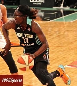Essence Carson. Photo by: Stacy Podelski/1495 Sports