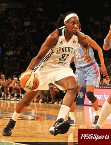 Tina Charles. Photo by: Stacy Podelski/1495 Sports