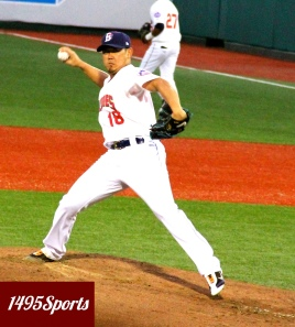 Daisuke Matsuzaka. Photo by: Stacy Podelski/1495 Sports