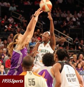 Tina Charles. Photo by: Stacy Podelski/1495 Sports