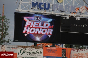 Ring of Honor had their Field Of Honor show at MCU Park in 2014 and will do so again in 2015. Photo by: Stacy Podelski/1495 Sports