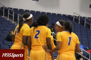 The Hofstra Women's Basketball Team. Photo by: Stacy Podelski/1495 Sports