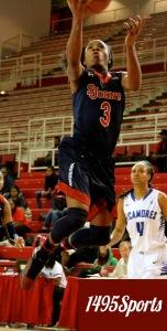 Aliyyah Handford. Photo by: Stacy Podelski/1495 Sports