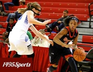 Aliyyah Handford . Photo by: Stacy Podelski/1495Sports