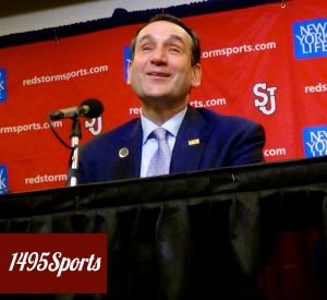 Mike Krzyzewski. Photo by: Stacy Podelski/1495 Sports