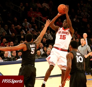 Sir'Dominic Pointer. Photo by: Stacy Podelski/ 1495 Sports