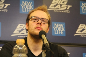 Matt Stainbrook. Photo by: Stacy Podelski/1495 Sports