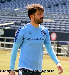 David Villa. Photo by: Stacy Podelski/1495 Sports