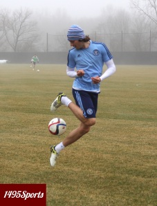 Mix Diskerud. Photo by: Stacy Podelski/1495 Sports