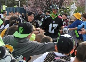 Joe Fletcher. Photo by: Stacy Podelski/1495 Sports