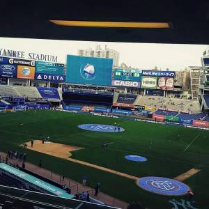 Yankee Stadium has been a great venue for New York City FC matches. Photo by: Stacy Podelski/1495 Sports