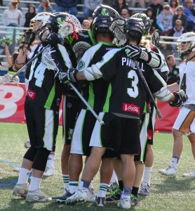 New York Lizards celebrating. Photo by: Stacy Podelski/1495 Sports