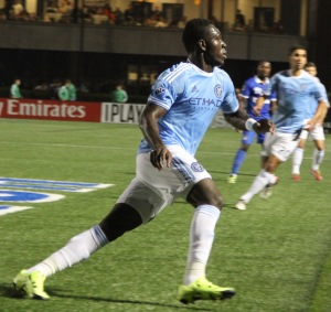 Kwadwo Poku. Photo by: Stacy Podelski/1495 Sports