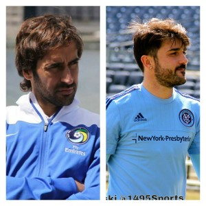 Raul and David Villa are just two of the stars that are possible to grace the pitch at Shuart Stadium for the US Open Cup Match/East River Derby. Photo by: Stacy Podelski