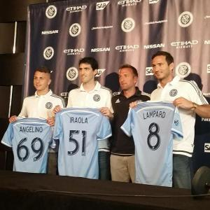 New York City FC Welcomes Andoni Iraola, Jose Angel Tasende and Frank Lampard  to the Club