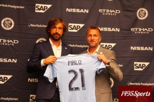 Andrea Pirlo. Photo by: Stacy Podelski/1495 Sports