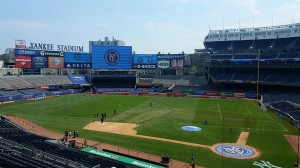 Yankee Stadium during a New York City FC match. Photo by: Stacy Podelski/1495 Sports