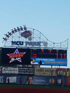 WWE fans had an experience they will never forget as Four Superstars and Divas invaded MCU Park prior to the biggest event of the Summer in SummerSlam. Photo by: Stacy Podelski1495 Sports
