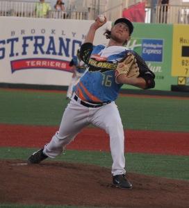 Tyler Badamo. Photo by: Stacy Podelski/1495 Sports