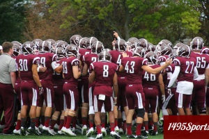 Fordham Football. Photo by: Stacy Podelski/1495 Sports