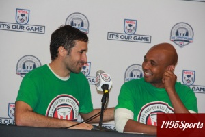 Raul and Marcos Senna. Photo by: Stacy Podelski/1495 Sports