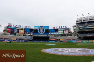 Yankee Stadium for the New York City FC Home Opener. Photo by: Stacy Podelski/1495 Sports