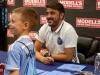 PHOTO GALLERY and VIDEO: NYCFC Captain David Villa Meet and Greet atModell's