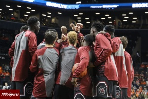South Carolina MBB. Photo by: Stacy Podelski