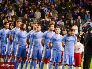 New York City FC prior to match v Toronto FC. Photo by: Stacy Podelski/1495 Sports