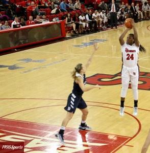Jade Walker. Photo by: Stacy Podelski/1495 Sports