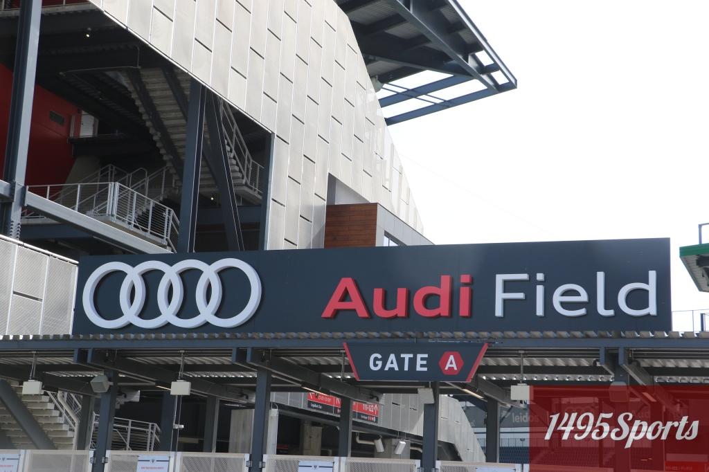 Audi Field. Photo by : Stacy Podelski/1495Sports